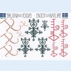 Ablösbare Tattoos - Magische Zeichen der Wikinger