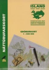 Vegetationskarte von Island 1:500.000