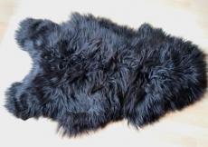 Lammfell aus Island, schwarz