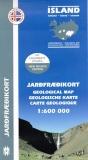 Geologische Karte von Island 1:600.000