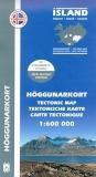 Tektonische Karte von Island 1:600.000