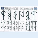 Ablösbare Tattoos - Runen
